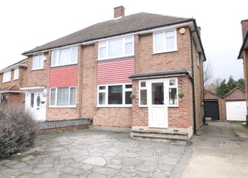 Thumbnail 3 bed semi-detached house to rent in Freshwell Avenue, Chadwell Heath, Essex