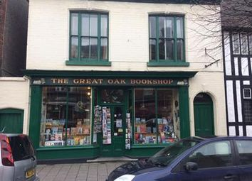 Thumbnail Retail premises for sale in The Great Oak Bookshop, 35 Great Oak Street, Llanidloes, Powys