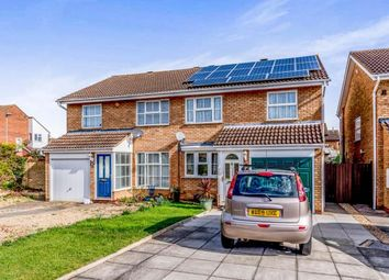Thumbnail 3 bed semi-detached house for sale in Hamble Road, Bedford, Bedfordshire, .