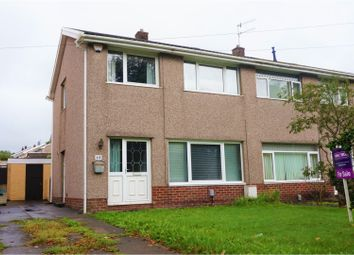 Thumbnail 3 bed semi-detached house for sale in Heol Dulais, Birchgrove
