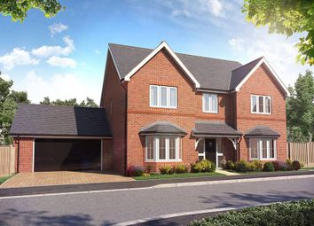 "Thumbnail 5 bed detached house for sale in ""The Solville"" at Weston Road, Aston Clinton, Aylesbury"