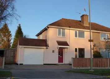 Thumbnail 3 bed semi-detached house for sale in Beech Road, Farnborough