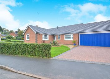 Thumbnail 3 bed detached bungalow for sale in Yaxley Close, Thurnby, Leicester