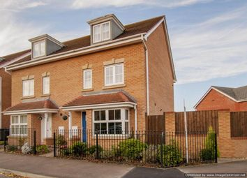 Thumbnail 4 bed semi-detached house for sale in Sunningdale Way, Gainsborough