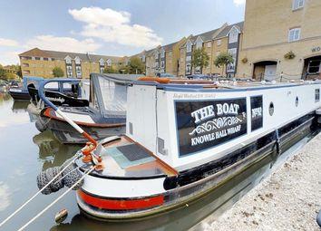 Thumbnail 1 bed houseboat for sale in The Moorings, Dickinson Quay, Hemel Hempstead