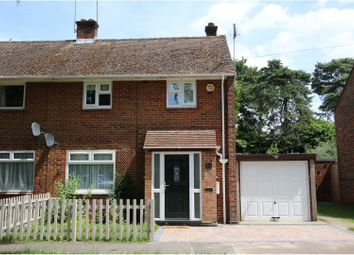 Thumbnail 2 bed semi-detached house for sale in Hollybush Lane, Reading