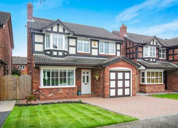 Thumbnail 4 bed detached house for sale in Chestnut Close, Middlewich