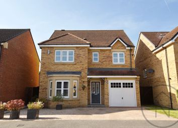 Thumbnail 4 bed detached house for sale in Wakenshaw Drive, Newton Aycliffe