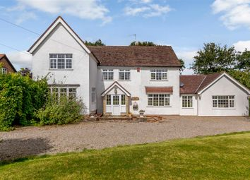 Thumbnail 4 bed detached house for sale in Guarlford Road, Guarlford, Malvern, Worcestershire