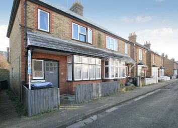 Thumbnail 2 bed semi-detached house for sale in Kent Street, Whitstable