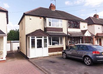 Thumbnail 2 bed semi-detached house for sale in Woden Road East, Wednesbury