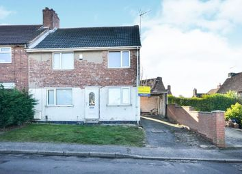 Thumbnail 3 bed end terrace house for sale in North Avenue, Rainworth, Mansfield