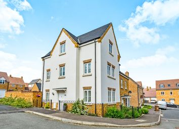 Thumbnail 4 bed town house for sale in Savernake Drive, Corby