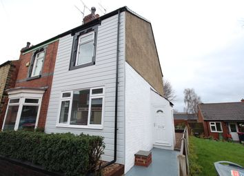 Thumbnail 2 bed semi-detached house for sale in Crossland Street, Swinton, Mexborough