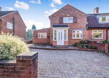 Thumbnail 2 bed end terrace house for sale in Braunstone Avenue, Leicester