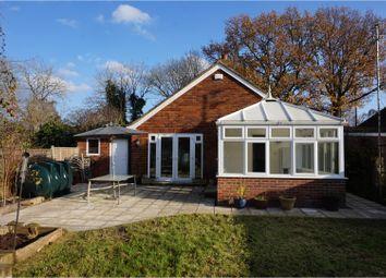 Thumbnail 3 bed detached bungalow for sale in The Green Lane, Tonbridge