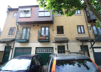 Thumbnail 3 bed town house to rent in Pankhurst Avenue, London