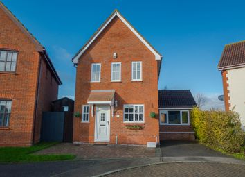Thumbnail 3 bed detached house for sale in Clover Field, Haverhill