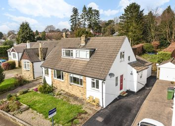 Thumbnail 3 bed semi-detached house for sale in The Close, East Keswick, Leeds