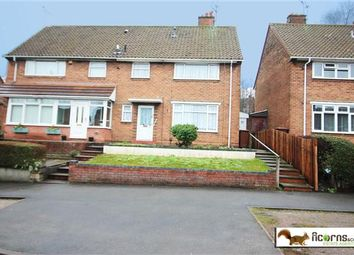 Thumbnail 3 bed semi-detached house for sale in Primley Avenue, Walsall