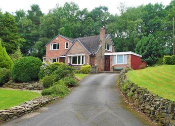 Thumbnail 3 bed detached house for sale in Top Road, Hardwick Wood, Wingerworth