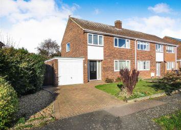 Thumbnail 3 bed semi-detached house for sale in Redwing Place, St. Neots