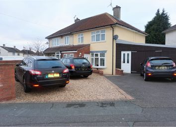 Thumbnail 3 bedroom semi-detached house for sale in Portcullis Road, Leicester