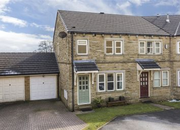 Thumbnail 3 bed end terrace house for sale in Moor Drive, Oakworth, Keighley, West Yorkshire
