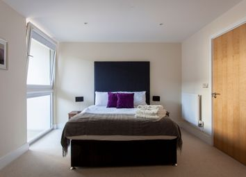 Thumbnail 1 bed flat to rent in Lanterns Court, Canary Wharf