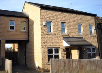 Thumbnail 3 bedroom semi-detached house to rent in Cross Lane, Primrose Hill, Huddersfield