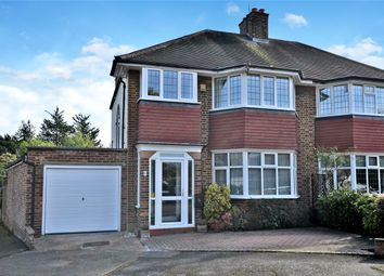 Thumbnail 4 bed semi-detached house for sale in Stafford Close, Cheam, Sutton, Surrey
