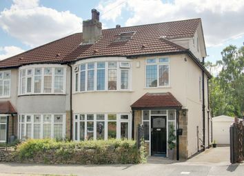 Thumbnail 4 bed semi-detached house for sale in Oakwell Avenue, Leeds