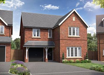 "Thumbnail 5 bedroom detached house for sale in ""The Ramhill"" at Red Lane, Burton Green, Kenilworth"