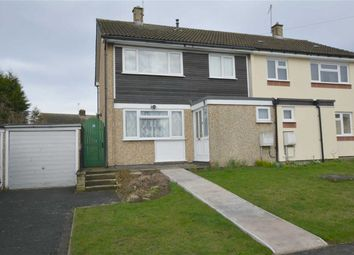 Thumbnail 3 bed semi-detached house for sale in Calver Crescent, Staveley, Chesterfield, Derbyshire