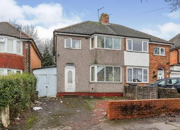 Thumbnail 3 bed semi-detached house for sale in Beechmore Road, Sheldon, Birmingham, West Midlands
