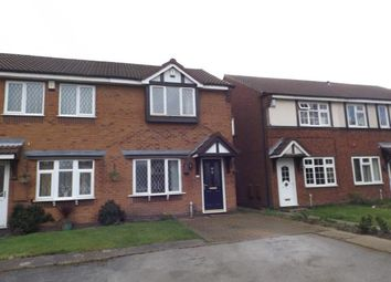 Thumbnail 2 bed end terrace house for sale in Burdock Close, Walsall, West Midlands