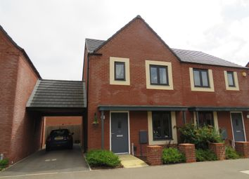 Thumbnail 2 bed semi-detached house for sale in Kent Road South, Northampton