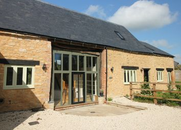 Thumbnail 3 bed barn conversion for sale in The Green, Longcot, Faringdon