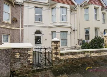 Thumbnail 1 bed flat to rent in Salcombe Road, Lipson, Plymouth