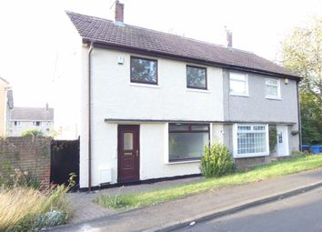 Thumbnail 2 bed semi-detached house to rent in Lowther Close, Peterlee