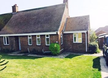 Thumbnail 2 bedroom semi-detached bungalow to rent in Parkside, Sedgeford, Hunstanton