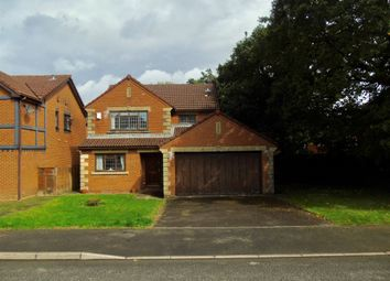 Thumbnail 4 bedroom detached house for sale in Llangorse Drive, Rogerstone, Newport