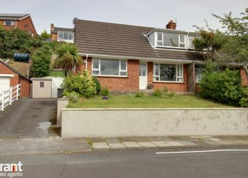 Thumbnail 3 bed semi-detached house for sale in Strangford Heights, Newtownards