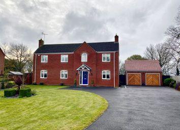 Thumbnail 4 bed detached house for sale in Park Close, Gosberton, Spalding