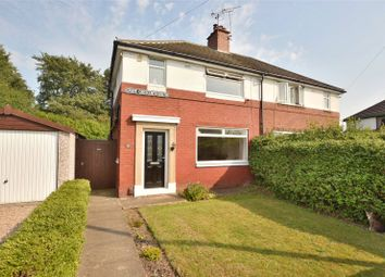 Thumbnail 3 bed semi-detached house for sale in Grove Crescent South, Boston Spa, Wetherby, West Yorkshire