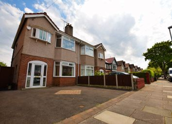 Thumbnail 3 bed semi-detached house for sale in Cavendish Drive, Birkenhead