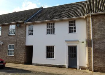Thumbnail 3 bed terraced house to rent in Long Brackland, Bury St. Edmunds