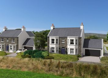 Thumbnail 5 bed detached house for sale in Plot 1 Clypse Cottages, Onchan