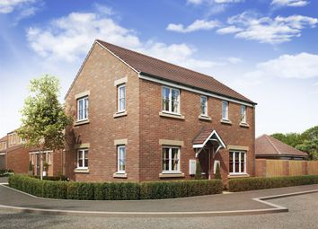 "Thumbnail 3 bedroom detached house for sale in ""The Clayton Corner"" at Theedway, Leighton Buzzard"