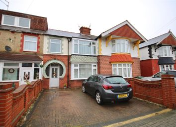 Thumbnail 3 bed terraced house to rent in Chatsworth Avenue, Highbury, Portsmouth